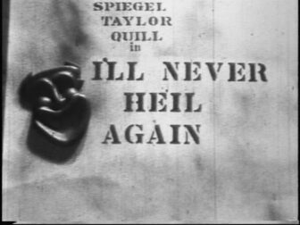 I'll Never Heil Again Title Screenshot 336x252 - Go Pre-Evil Dead with Scott Spiegel and Bill Ward's Super 8 Shorts - AVAILABLE NOW! Must Watch Videos Right Here!