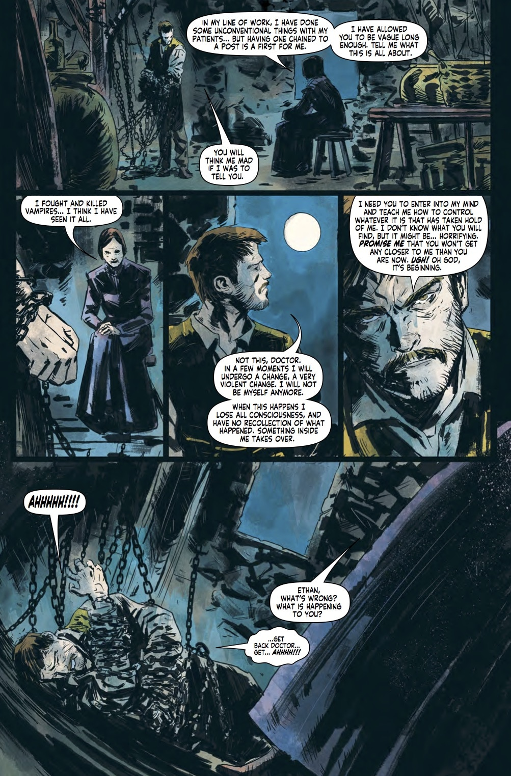 PENNY DREADFUL DreadCentralPreview1 - Exclusive Preview of Titan's Penny Dreadful: The Awaking TPB