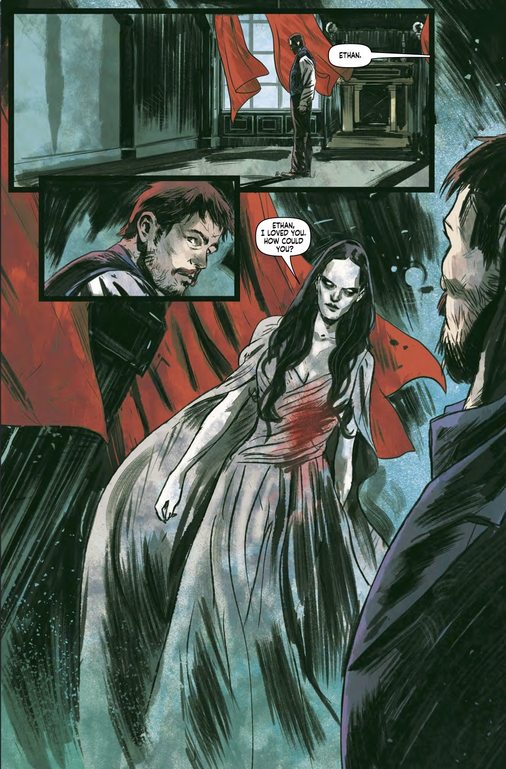 Page 1 - Exclusive Preview of Titan's Penny Dreadful: The Awaking TPB