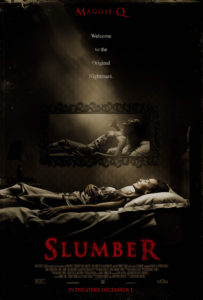 SlumberTheatrical Poster 203x300 - Slumber Review - This Groggy Sleep Paralysis Thriller Is Less Nightmare, More Lullaby