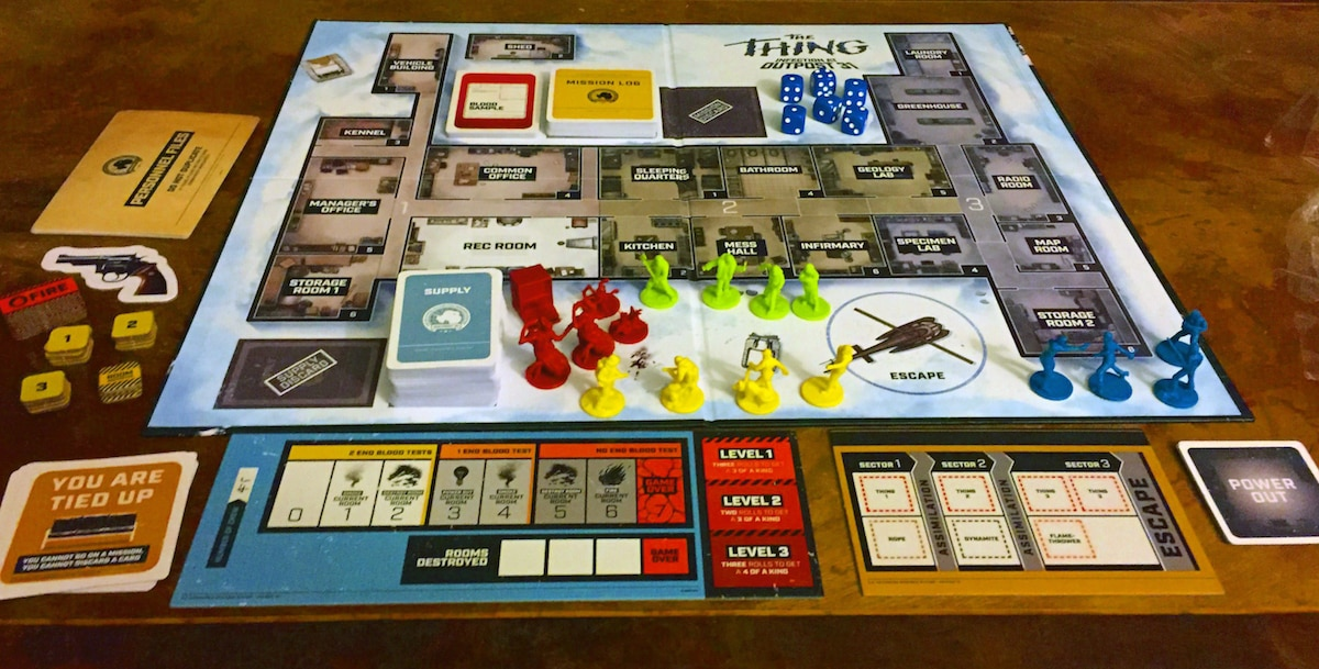 TT 01 GamePlay01 - The Thing: Infection at Outpost 31 Game Overview and Review - Last Meeple Standing