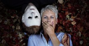 halloween new Copy 300x157 - Michael Myers Spotted on the Set of Halloween!