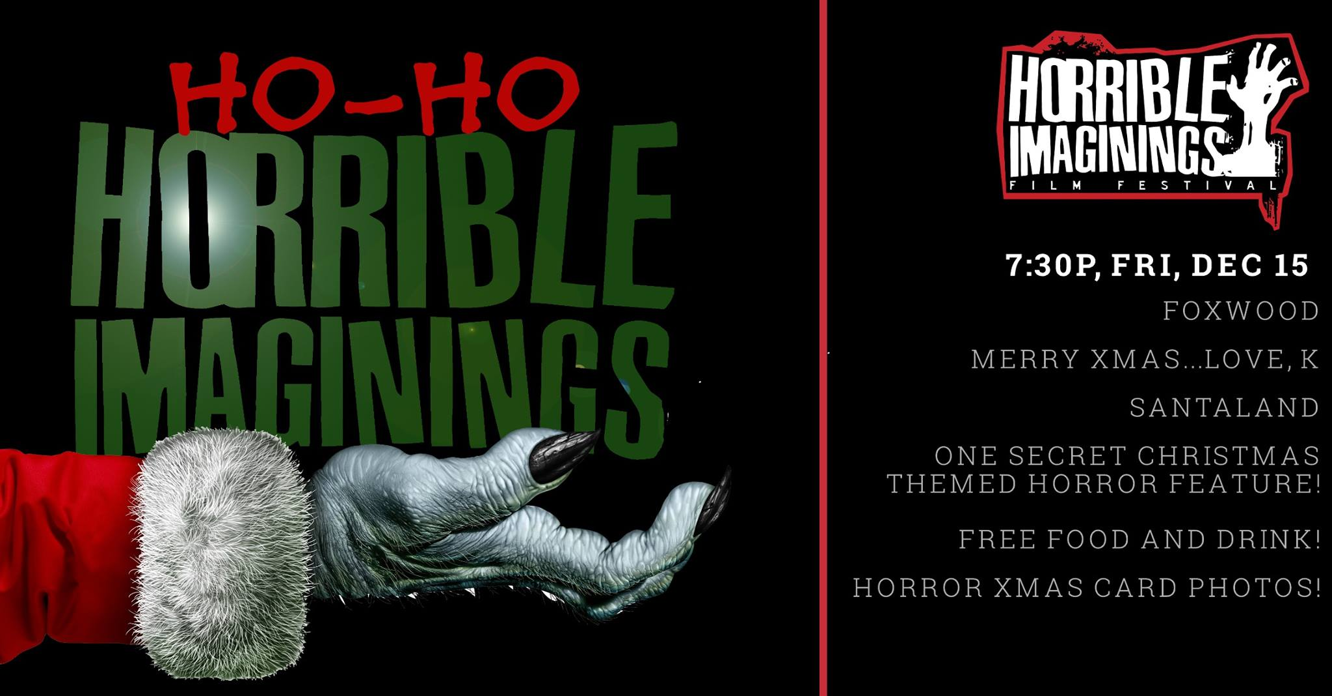 ho ho horrible imaginings cover - Ho-Ho Horrible Imaginings Brings Yuletide Screams