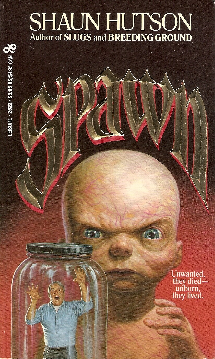 shaun hutson spawn 1 - Exclusive: Bestselling Horror Author Shaun Hutson Talks Us Through His Career