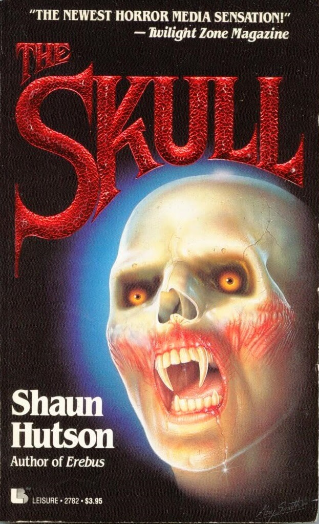 shaun hutson the skull 1 - Exclusive: Bestselling Horror Author Shaun Hutson Talks Us Through His Career