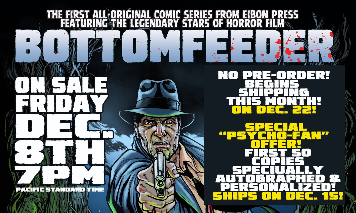 BOTTOMFEEDER BANNER min min - Bottomfeeder Horror Comic Is Humanoids from the Deep Meets Bad Lieutenant! ON SALE TODAY!