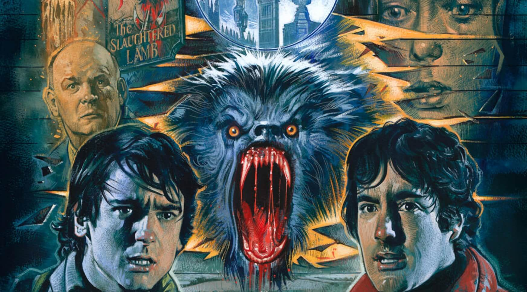 Graham Humphreys An American Werewolf in London 5 1 - AN AMERICAN WEREWOLF IN LONDON Blu-ray Review - A Classic Gets the Royal Treatment