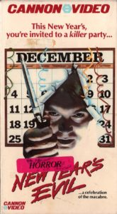 NEW YEARS EVIL 1980 vhs 165x300 - The Overlook'd: New Year's Evil (1980) Review