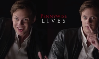 PennywsieLives 400x240 - Must-See: Watch Bill Skarsgard Turn Into Pennywise In All-New IT Featurette