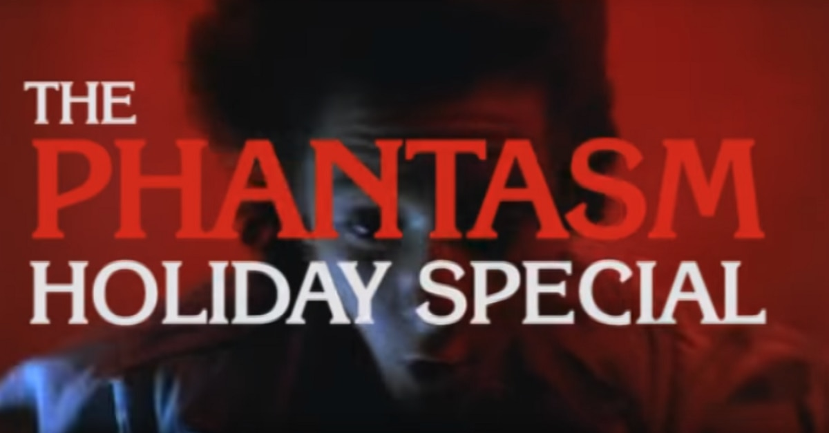 PhantasmHolidaySpecial - Check Out the Amazing Fan-Made Trailer for The Phantasm Holiday Special