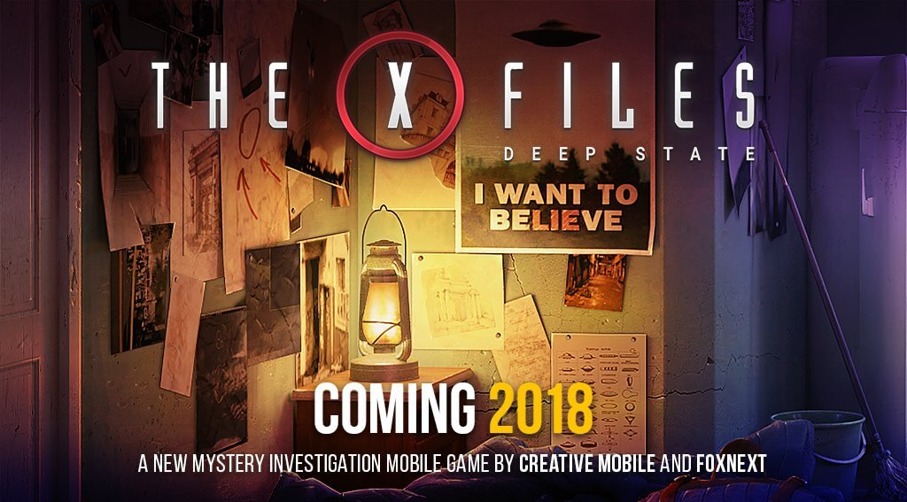 The X Files Deep State 1 - Investigate The Paranormal In The X-Files: Deep State Mobile Game