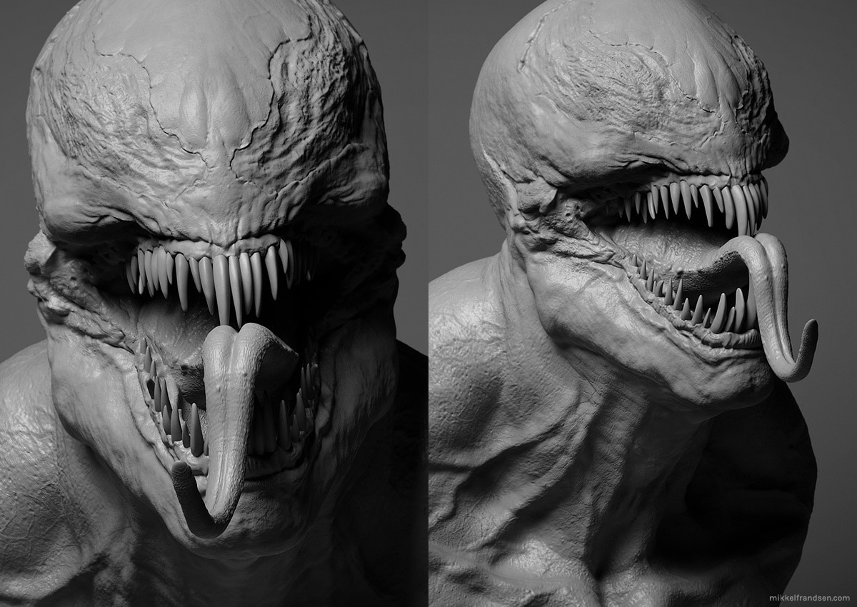 Venom 3 - Early First Look at CG Model for Venom?