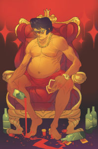 bubba ho tep comic 198x300 - Pre-order Bubba Ho-Tep and the Cosmic Blood-Suckers Issue #1 Here