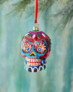 dayofdead ornament 239x300 - 10 Ghoulish Gifts for the Horror-Loving Lady in Your Life by Staci Layne Wilson