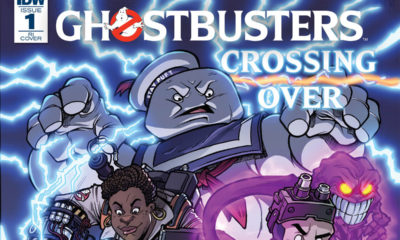 ghostbusters crossing over s 400x240 - Epic 8-Issue Ghostbusters: Crossing Over Event Comic Series Kicks Off in March