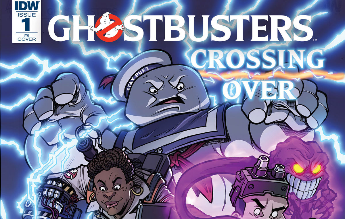ghostbusters crossing over s - Epic 8-Issue Ghostbusters: Crossing Over Event Comic Series Kicks Off in March