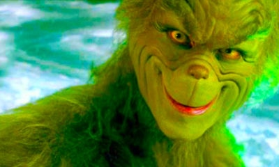 grinch 400x240 - Jim Carrey and The Grinch Go Beyond Whoville