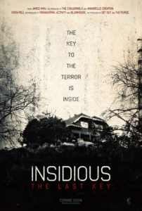 insidious the last key 202x300 - Interview: Composer Joseph Bishara on Scoring the Insidious Franchise, Working With John Carpenter, and His Favorite Horror Films of 2017