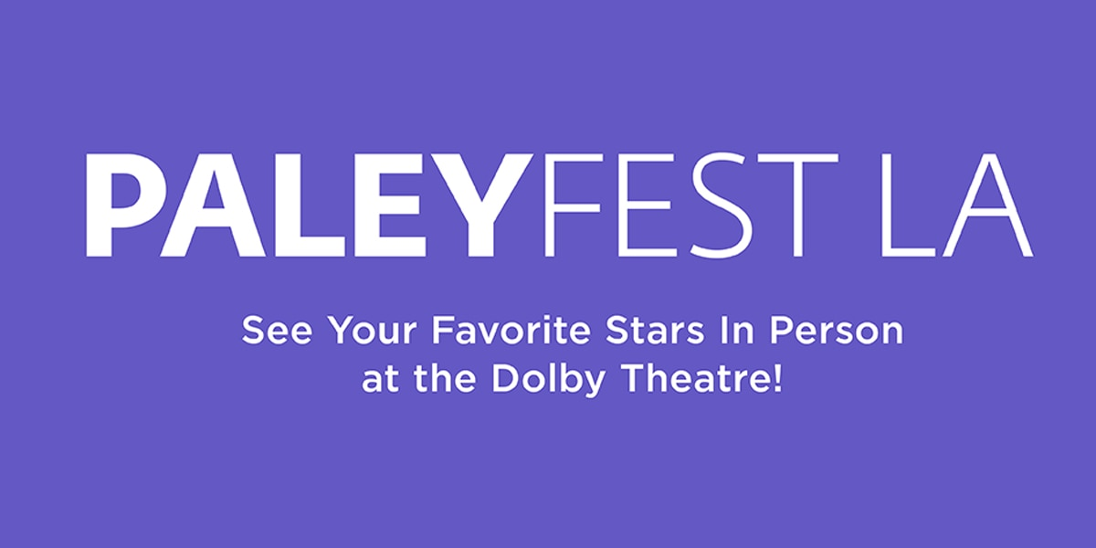 paleyfest la 2018 banner - Stranger Things Among First 2018 PaleyFest LA Selections