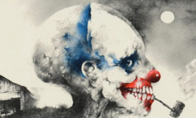 "scary stories to tell in the dark cover clown banner 400x240 - Fandango Shares Atmospheric ""First Look"" at SCARY STORIES TO TELL IN THE DARK Movie"