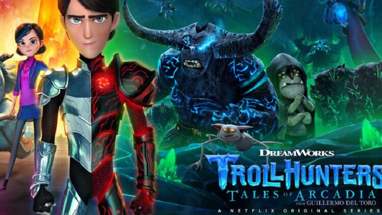 trollhunters part 2 750x422 - Guillermo del Toro's Animated Series Trollhunters 2 Now Streaming on Netflix