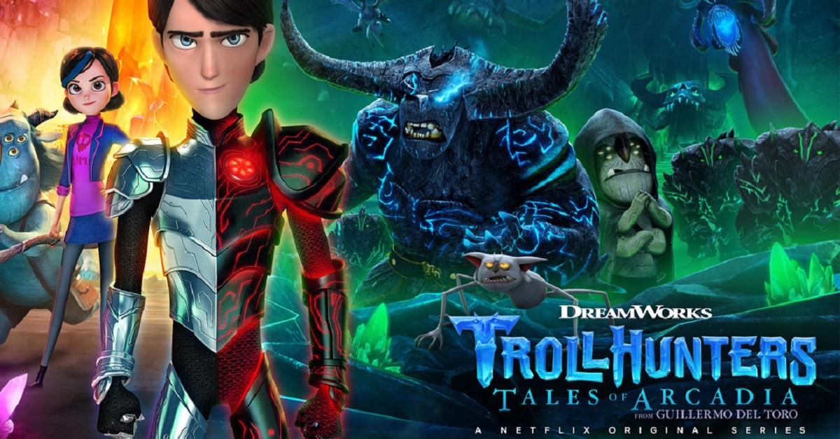 trollhunters part 2 - Guillermo del Toro's Animated Series Trollhunters 2 Now Streaming on Netflix