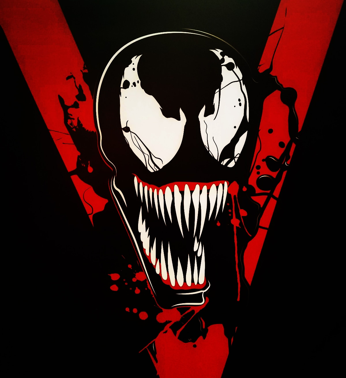 venom poster - Early First Look at CG Model for Venom?