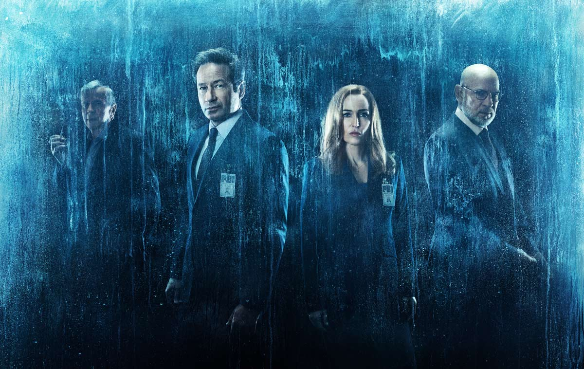 x files cast photo - New Trailer for The X-Files Is Declassified