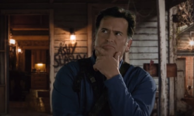 AshPSA 400x240 - Bruce Campbell on Ash vs Evil Dead: Season 3  - We're Gonna Pay Some Crap Off