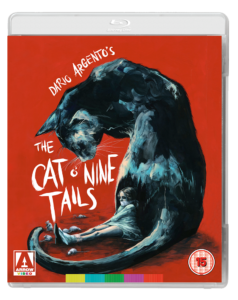 The Cat o' Nine Tails UK Blu-ray Sleeve