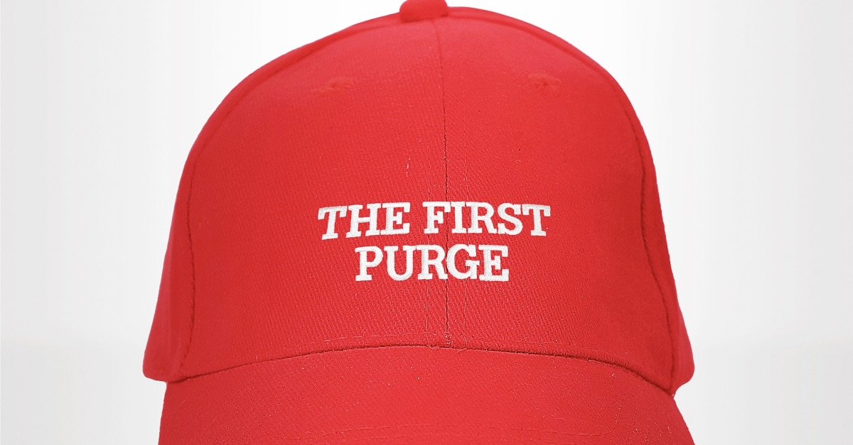 FirstPurgeFI - The Purge 4 Now Called The First Purge, Fun Teaser Poster Proves It