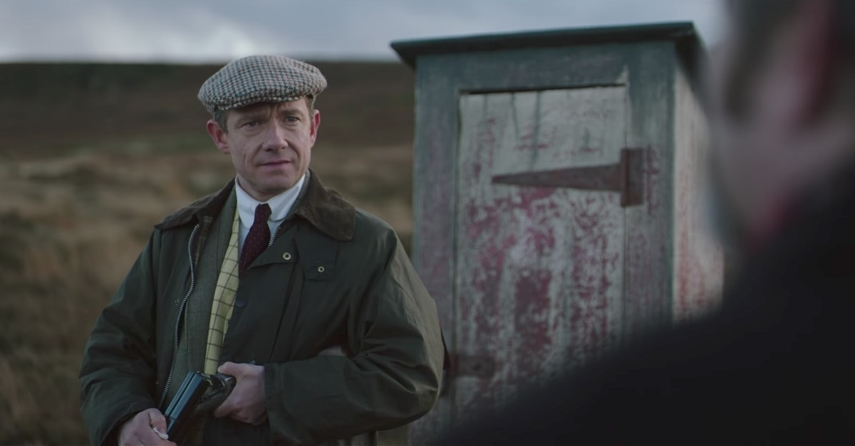 GhostStories - Check Out the Spooky Trailer for Ghost Stories Starring Martin Freeman