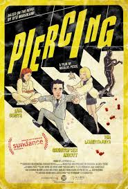 Piercing Poster - Piercing Review (Sundance) - An Imperfect but Visceral Dark Comedy