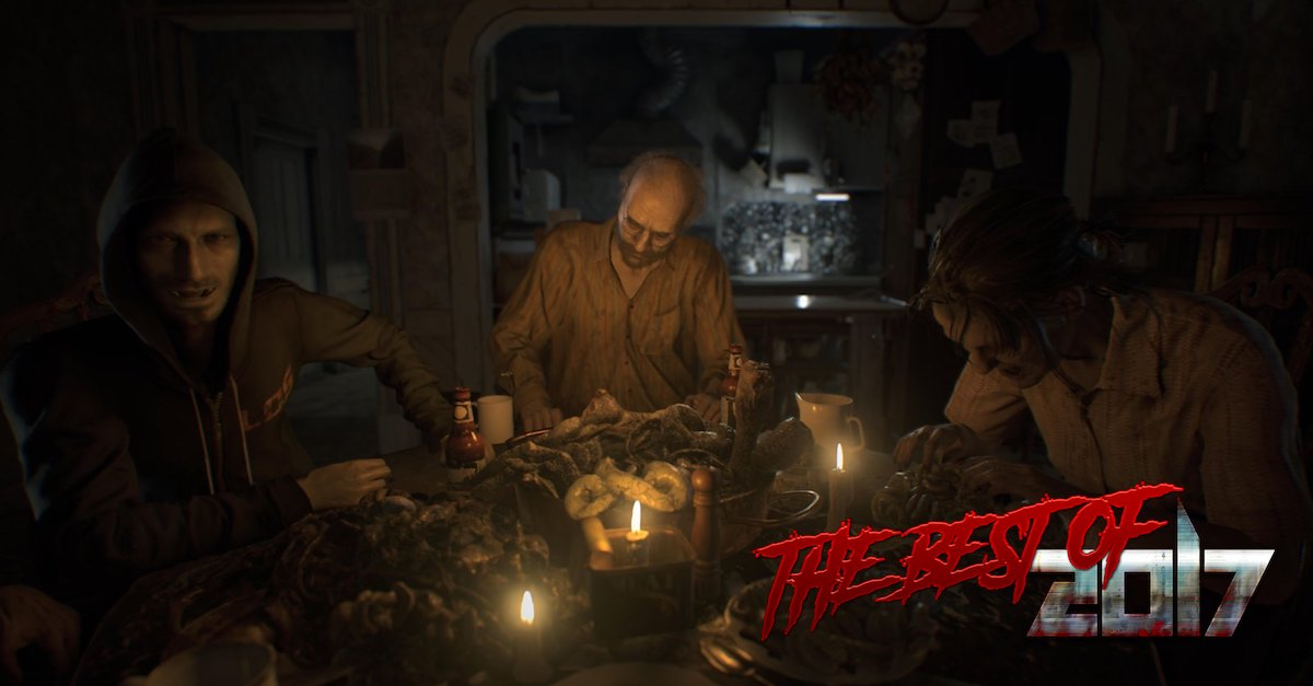 RE7 family - Ted Hentschke's Best Horror Games of 2017