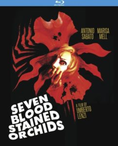 Seven Blood Stained Orchids 1972 243x300 - DVD and Blu-ray Releases: January 2, 2018
