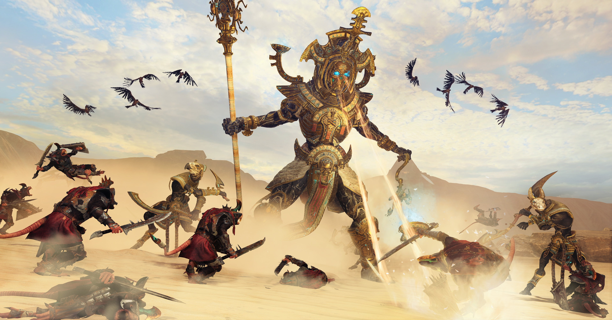 Total War Warhammer 2 Rise Of The Tomb Kings Doot Doot Dread