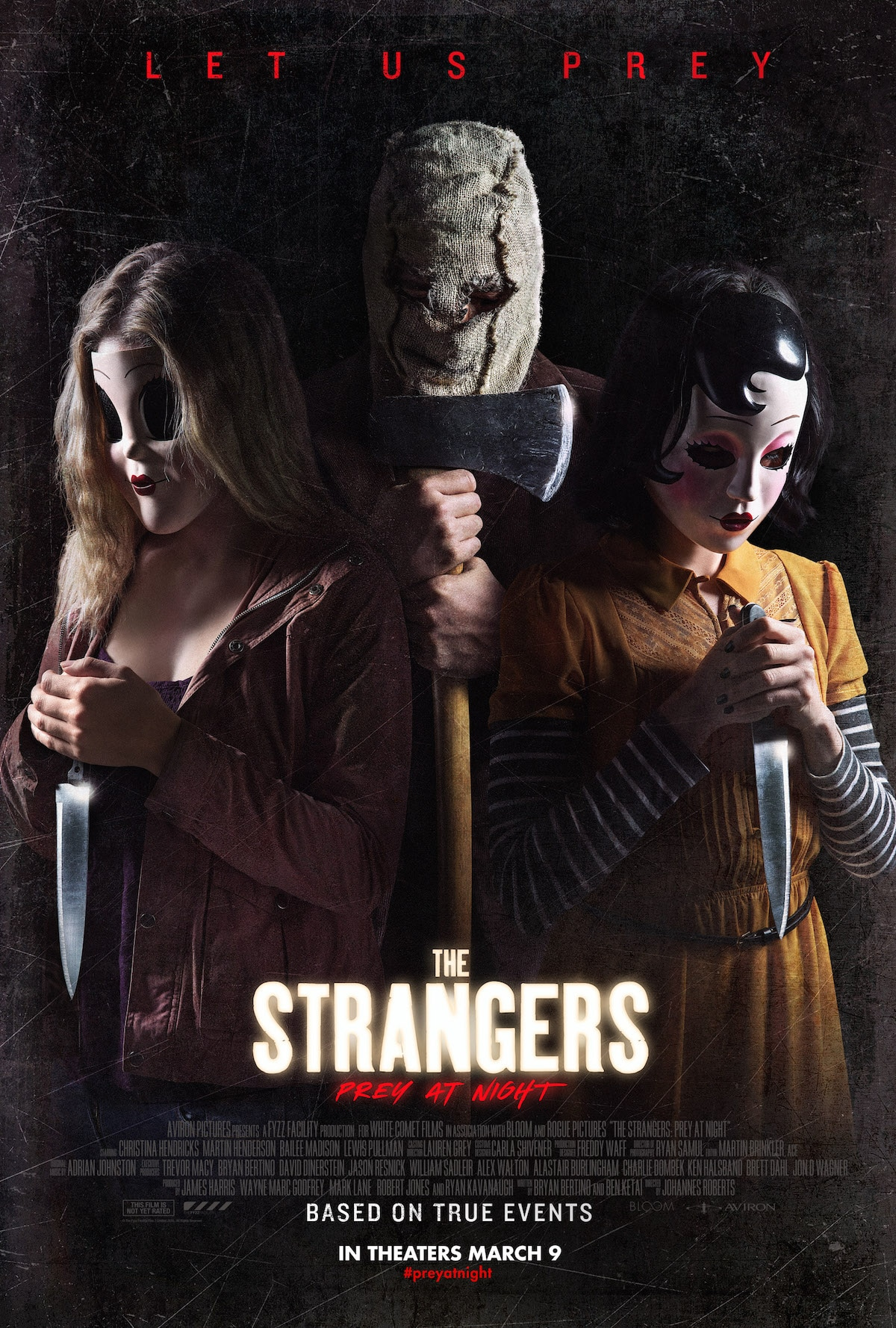 TheStrangersPreyAtNightPOSTER - The Strangers: Prey at Night Fan Art Contest Continues! Exclusive Image!