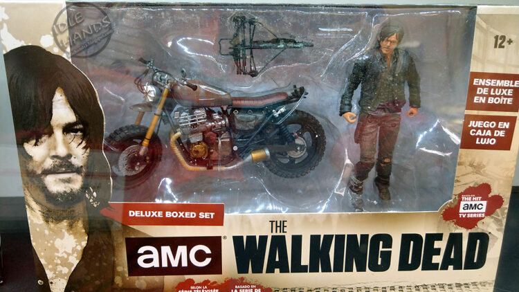 Toy Fair 2018 McFarlane Toys Walking Dead Daryl and Motorcycle Action Figure Deluxe Set 001 750x422 - UK Toy Fair 2018: Stranger Things, Ghostbusters, The Walking Dead, and More