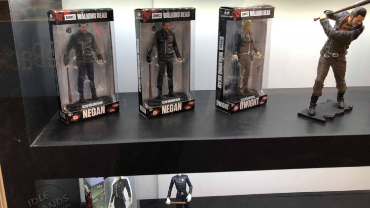 Toy Fair 2018 McFarlane Walking Dead Negan Action Figure 01 750x422 - UK Toy Fair 2018: Stranger Things, Ghostbusters, The Walking Dead, and More