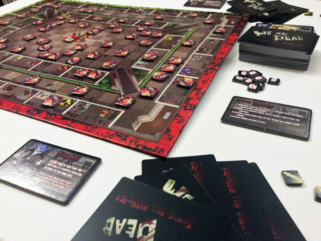 WAD 06 SetUp 1024x768 - We Are Dead: Zombie Massacre – Last Meeple Standing Game Overview and Review