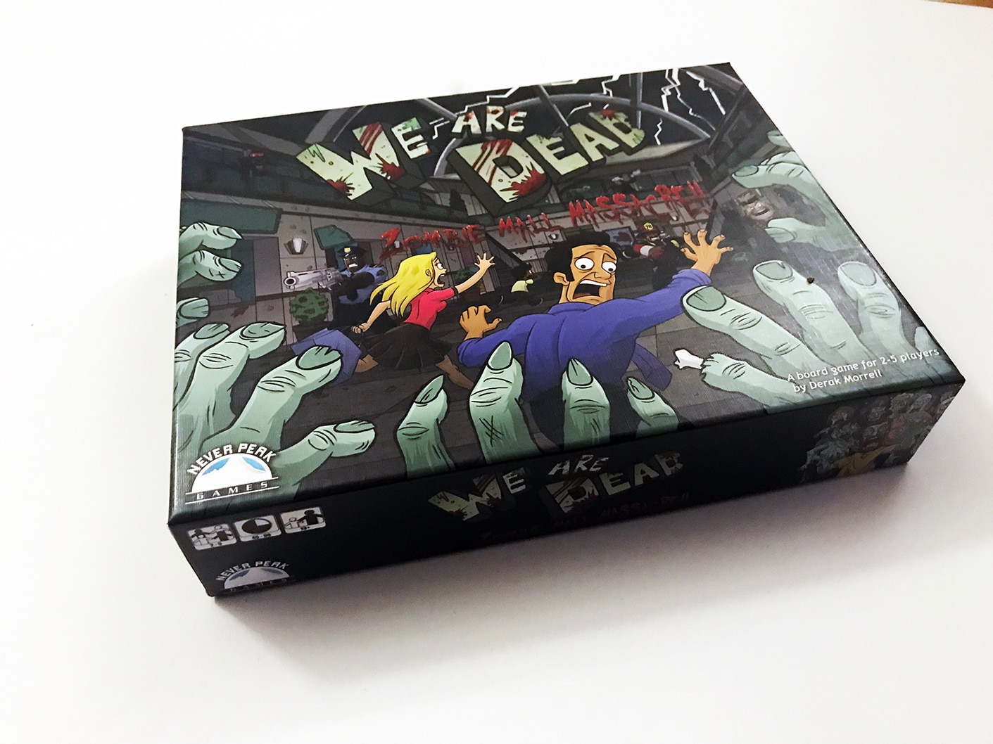 WAD 07 FrontOfBox smaller - We Are Dead: Zombie Massacre – Last Meeple Standing Game Overview and Review