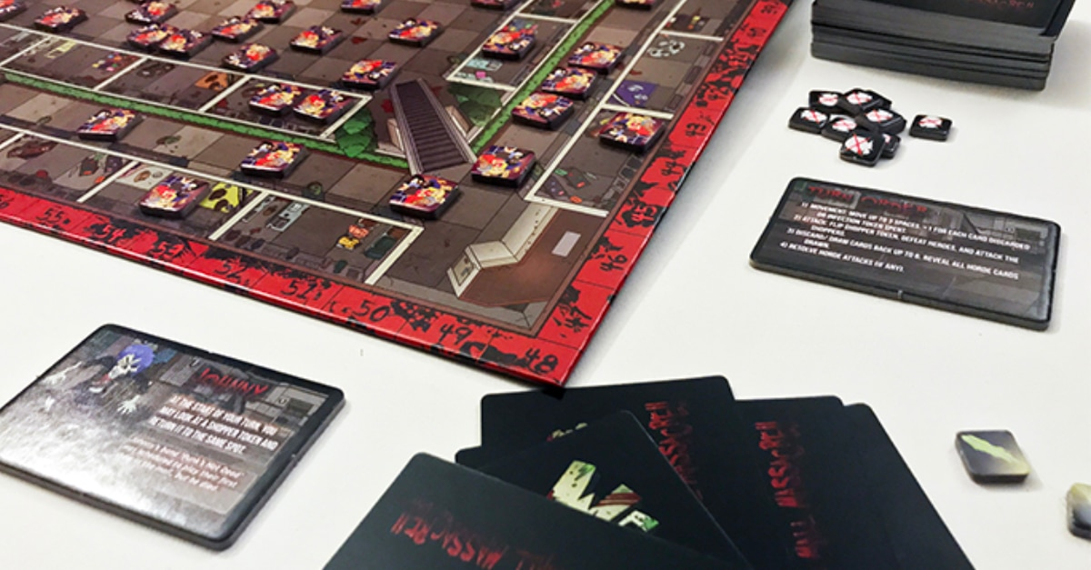 WAD FEATURED 06 SetUp - We Are Dead: Zombie Massacre – Last Meeple Standing Game Overview and Review
