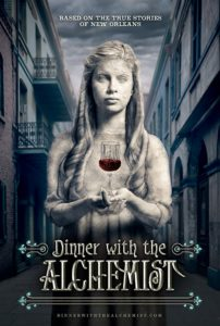 dinnerwiththealchemistposter 202x300 - Period Voodoo Horror Film Dinner With the Alchemist Gets February Release Date