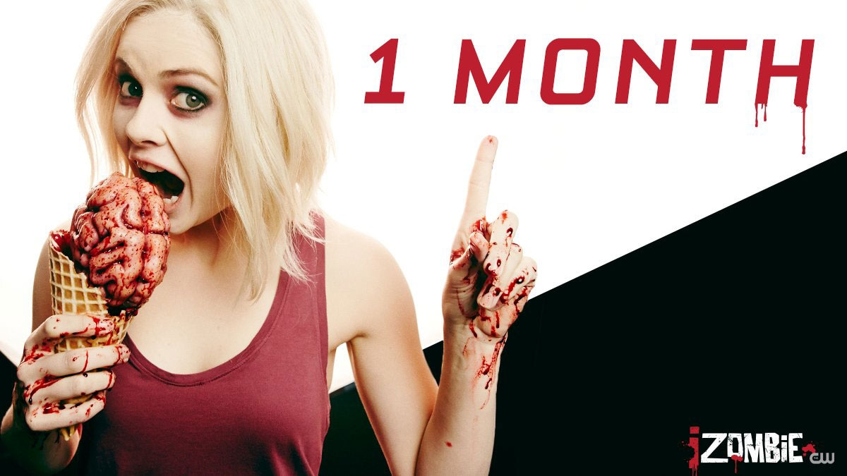 izombie season4 1month - New Promo Teaser for iZombie Season 4 Enters Beast Mode