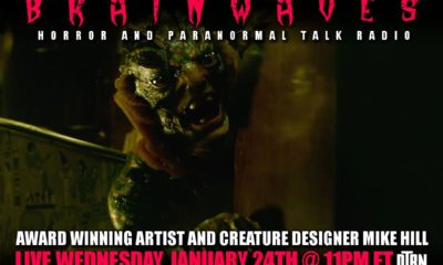 mike hill brainwaves 400x240 - #Brainwaves Episode 74: Creature Designer Mike Hill - The Shape of Water and More! Listen NOW!