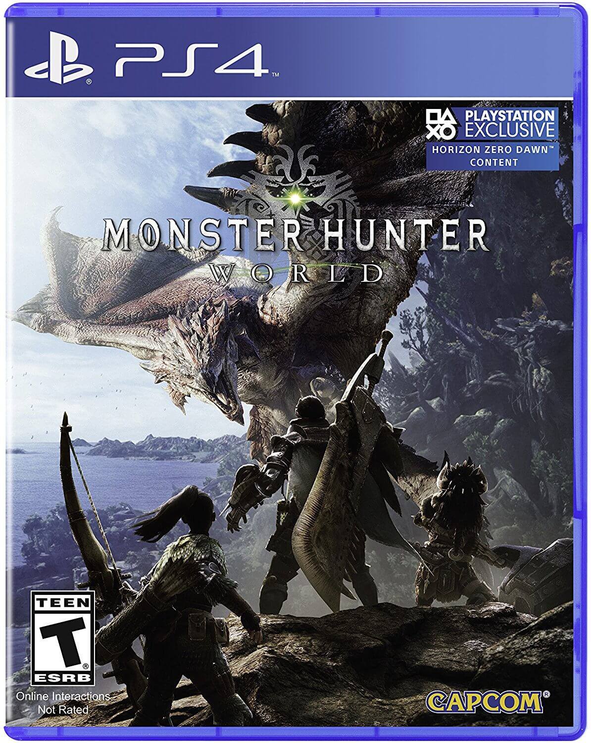 Monster Hunter World Stays in First Place on UK Sales Chart