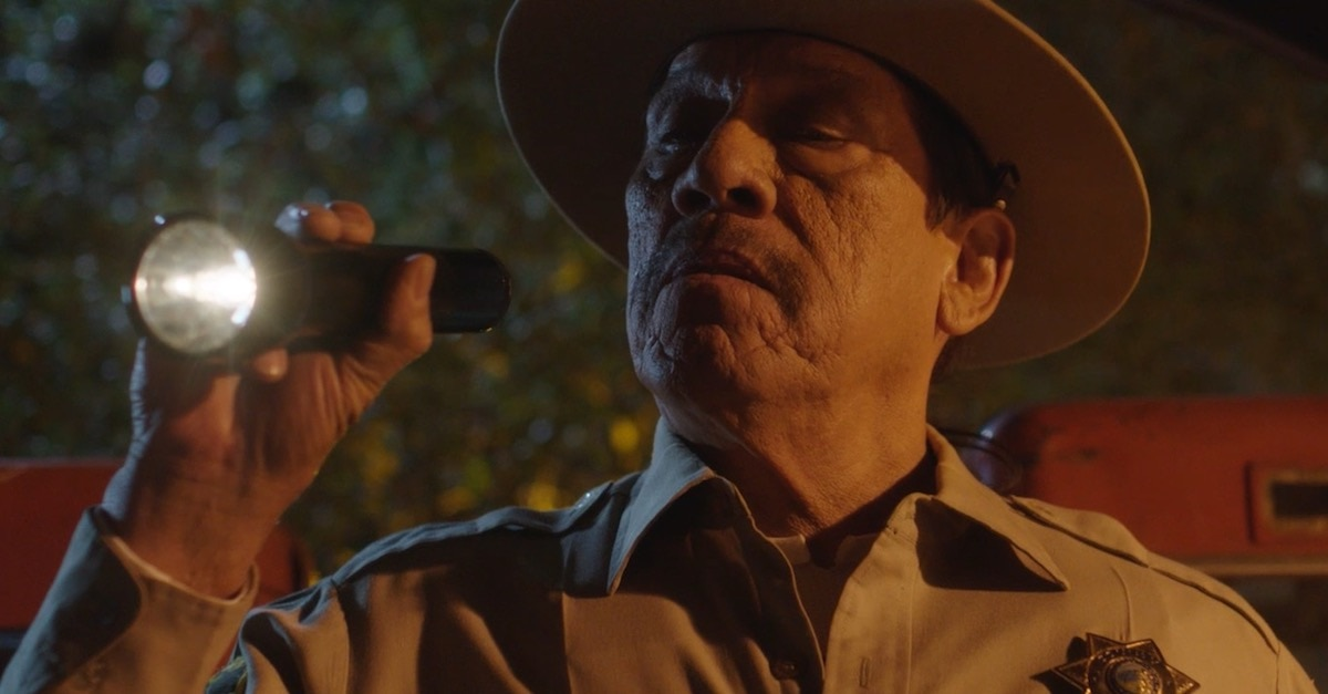 murderinthewoodsbanner - Exclusive: Danny Trejo Brings the Pain in This Murder in the Woods Teaser Trailer