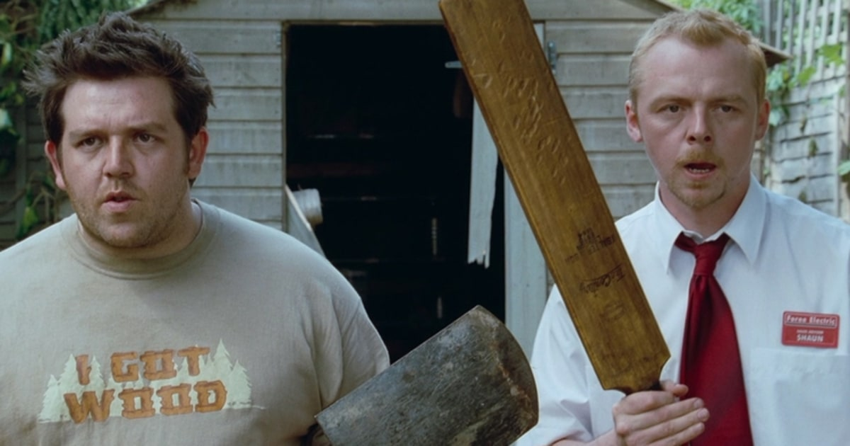 nick frost simon pegg - Simon Pegg and Nick Frost Are Truth Seekers Playing by Slaughterhouse Rulez