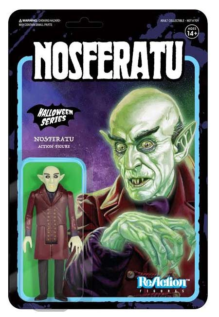 nos 3 - UK Toy Fair 2018: Entertainment Earth Unveils a Nosferatu Glow in the Dark ReAction Figure