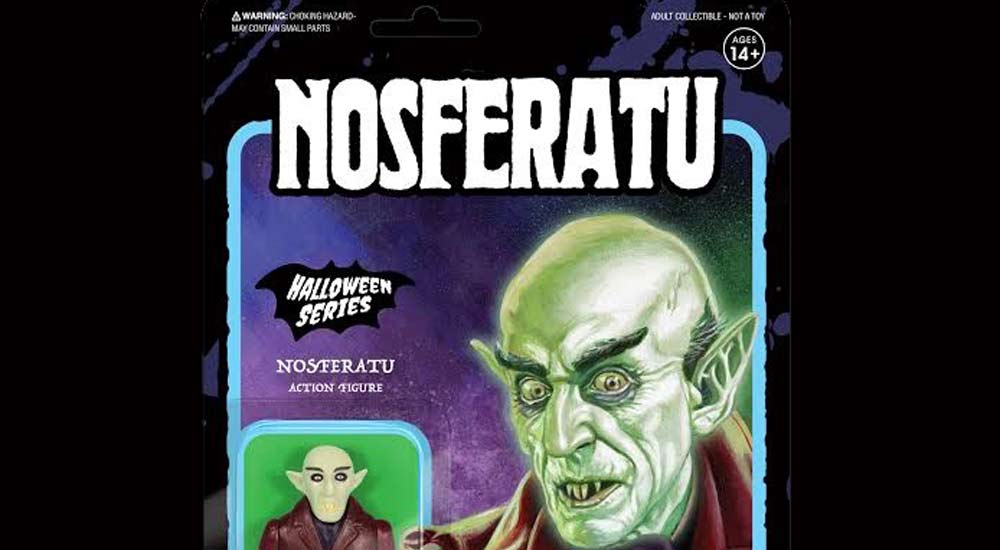 nos ee s - UK Toy Fair 2018: Entertainment Earth Unveils a Nosferatu Glow in the Dark ReAction Figure
